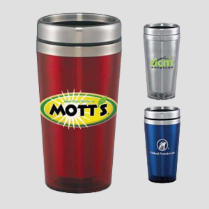 STAINLESS TRAVEL MUGS