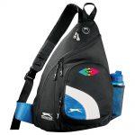 custom bags custom backpacks slazenger sport deluxe sling backpack