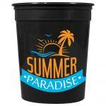 drinkwear stadium cups casino solid 32oz stadium cup