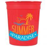 drinkwear stadium cups casino solid 32oz stadium cup13