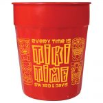 drinkwear stadium cups fluted 24oz stadium cup10