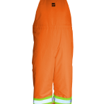 workwear – hi vis open road® insulated bib pants