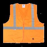 workwear – hi vis open road® solid safety vest
