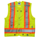 workwear – hi vis open road® surveyor vest