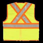 workwear – hi vis open road® zipper safety vest1