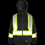 workwear – hi vis viking® cotton-lined safety hoodie