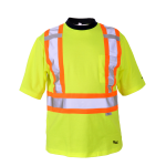 workwear – hi vis viking® safety cotton lined t-shirt