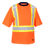 workwear – hi vis viking® safety cotton lined t-shirt
