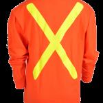 workwear – hi vis viking® safety cotton long sleeve shirt 1