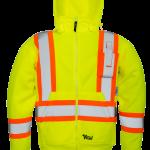 workwear – hi vis viking® safety fleece hoodie