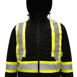 workwear – hi vis viking® safety fleece hoodie