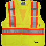 workwear – hi vis viking®tear away safety vest