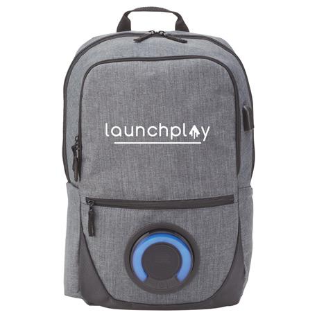 custom bags custom backpacks blare bluetooth speaker 15 computer backpack