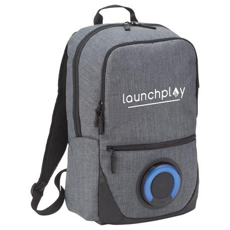custom bags custom backpacks blare bluetooth speaker 15 computer backpack1
