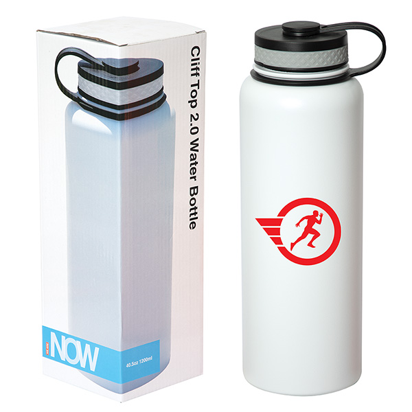 drinkware stainless steel water bottles cliff top 2.0 1200 ml. (40 oz.) bottle2
