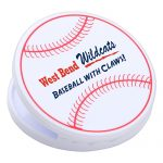 promotional products stress relievers baseball magnetic power clip