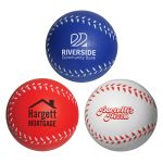 promotional products stress relievers baseball slo-release serenity squishy