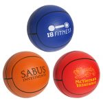 promotional products stress relievers basketball slo-release serenity squishy
