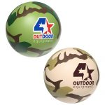 promotional products stress relievers camouflage ball
