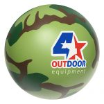 promotional products stress relievers camouflage ball1
