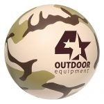 promotional products stress relievers camouflage ball2