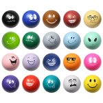 promotional products stress relievers emoticon ball