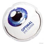 promotional products stress relievers eyeball aqua pearls™ hot cold pack
