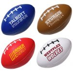 promotional products stress relievers football slo-release serenity squishy