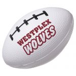promotional products stress relievers football slo-release serenity squishy4