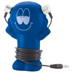 promotional products stress relievers little guy wired earbuds1