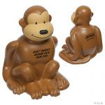 promotional products stress relievers monkey stress reliever