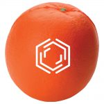 promotional products stress relievers orange stress reliever