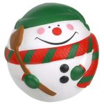 promotional products stress relievers snowman ball