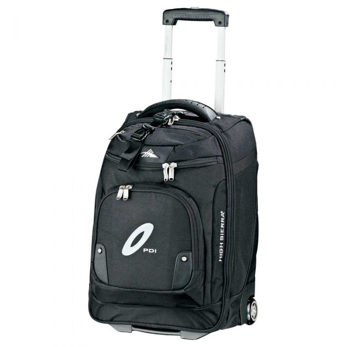 luggage high sierra® 21 wheeled carry-on computer upright