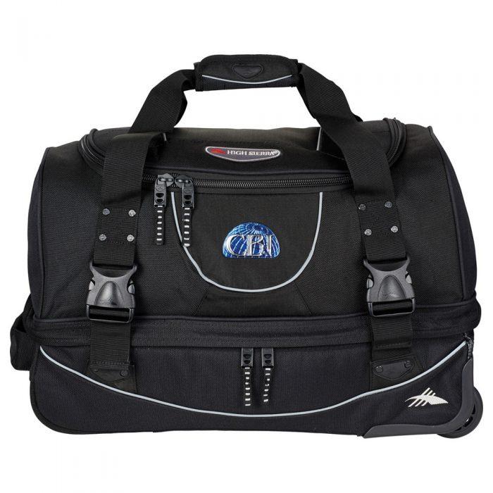 luggage high sierra® 22 carry-on rolling duffel bag