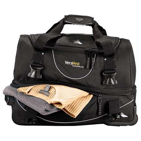 luggage high sierra® 22 carry-on rolling duffel bag3