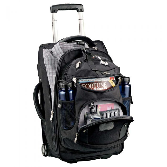 luggage high sierra® 22 wheeled carry-on with daypack
