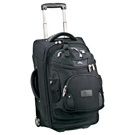 luggage high sierra® 22 wheeled carry-on with daypack1