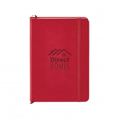promoional product journals portfolios donald hard cover journal Red