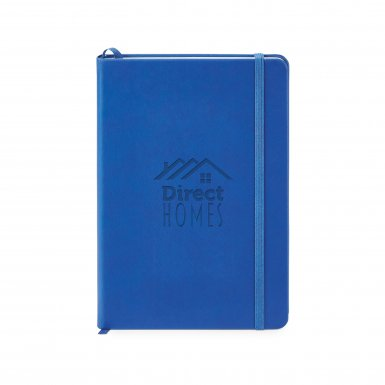 promoional product journals portfolios donald hard cover journal _Blue