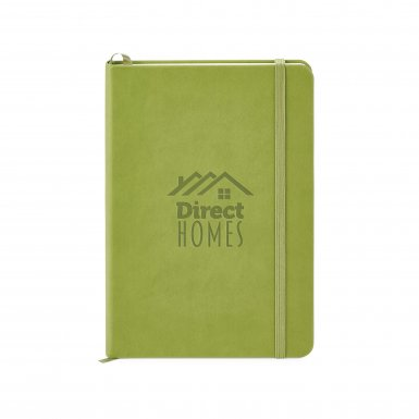 promoional product journals portfolios donald hard cover journal _Green