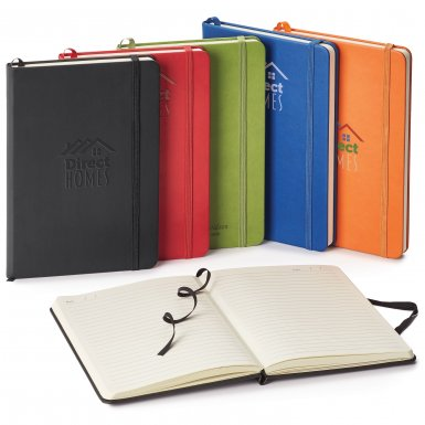 promoional product journals portfolios donald hard cover journal