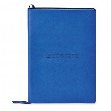 promoional product journals portfolios donald soft cover journal Donald_Blue