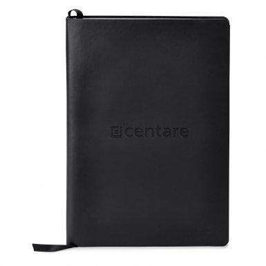 promoional product journals portfolios donald soft cover journalDonald_Black