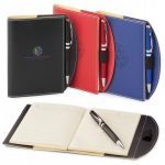 promotional products journals portfolios bradford refillable journal combo