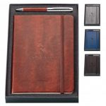 promotional products journals portfolios fabrizio 2 piece gift set