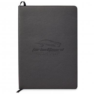 promotional products journals portfolios milana soft cover journal black