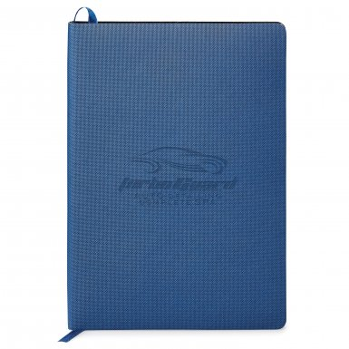 promotional products journals portfolios milana soft cover journal blue