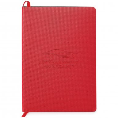 promotional products journals portfolios milana soft cover journal red