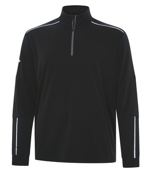 apparel jackets pullover callaway 1by4 zip water repellent pullover black and iron